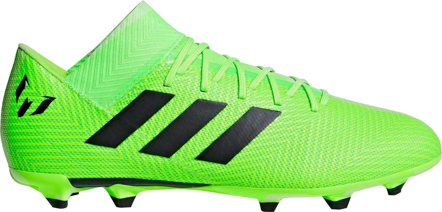 ad97231d1 adidas Men's Nemeziz Messi 18.3 FG Soccer Cleats, Green | Products ...