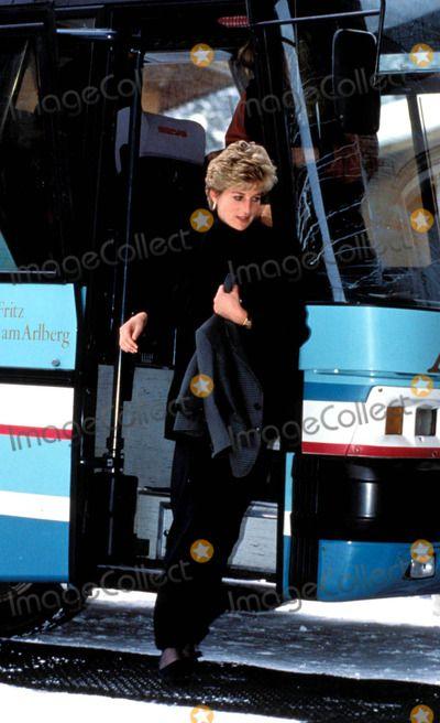Princess Diana Lech, Austria Photo: Dave Chancellor-alpha-Globe Photos Inc 1993