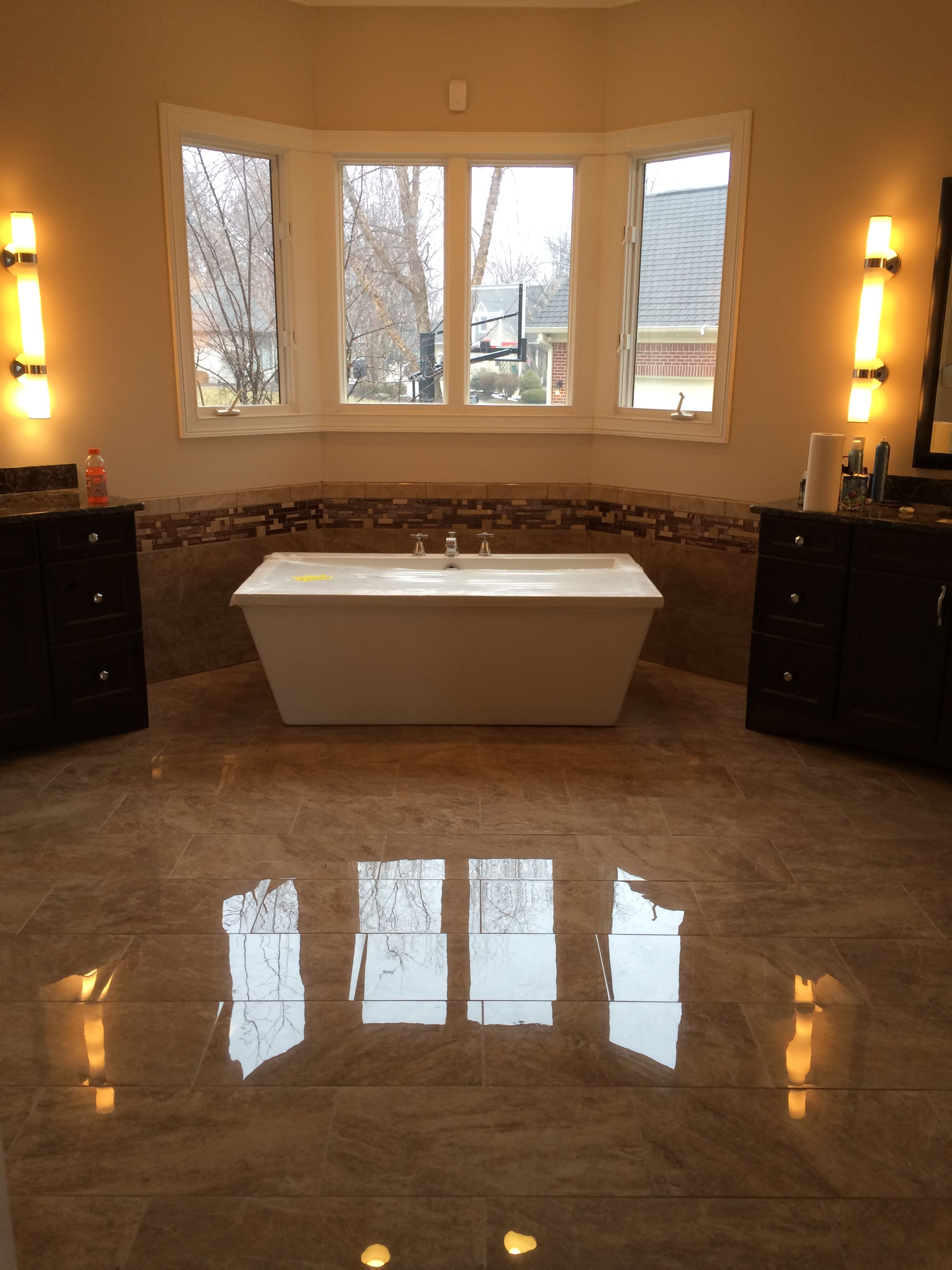 Large 12x24 High Gloss Floors Tile Visit Our Showroom In Westfield