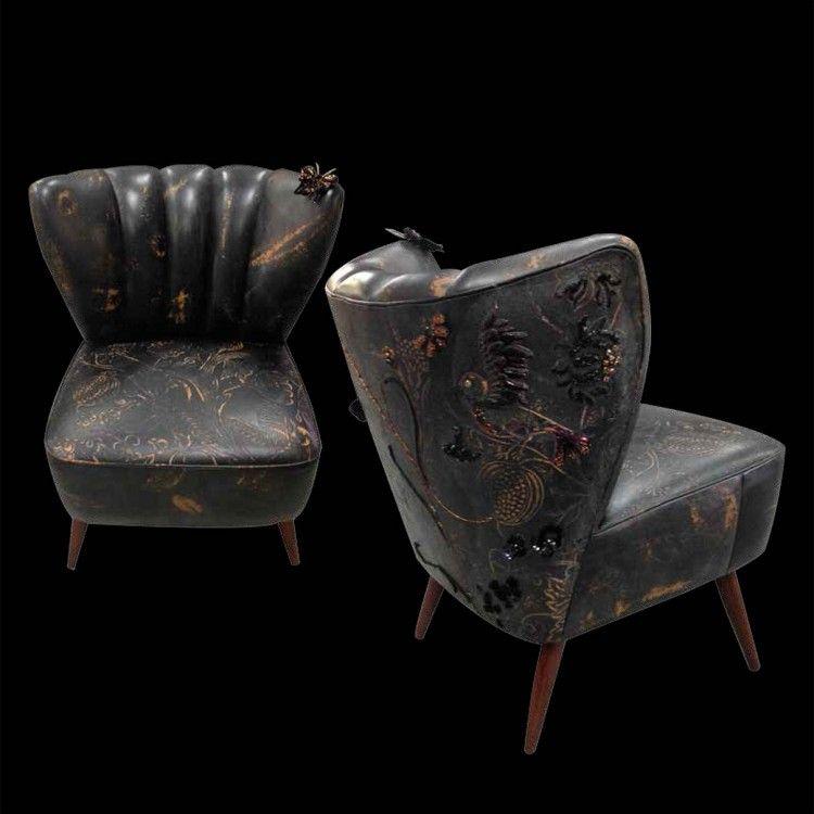 fauteuil paradis perdu l 39 atelier du renard quand la broderie s 39 en m le fauteuil mon ami. Black Bedroom Furniture Sets. Home Design Ideas