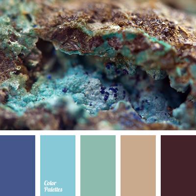 Color Palette #2177 | Blue colour palette, Brown, blue ...
