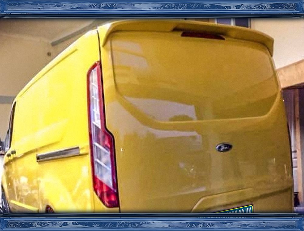 Ford Transit Custom Mk5 Roof Spoiler Tailgate Mstyle Cartuning