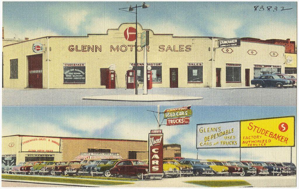 StudebakerGlenn Motor Sales, 600 Saginaw St., Bay City