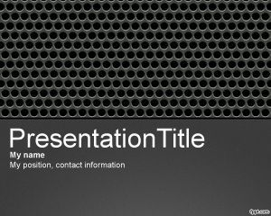 Perforated metal powerpoint template ppt template powerpoint perforated metal powerpoint template ppt template toneelgroepblik Choice Image