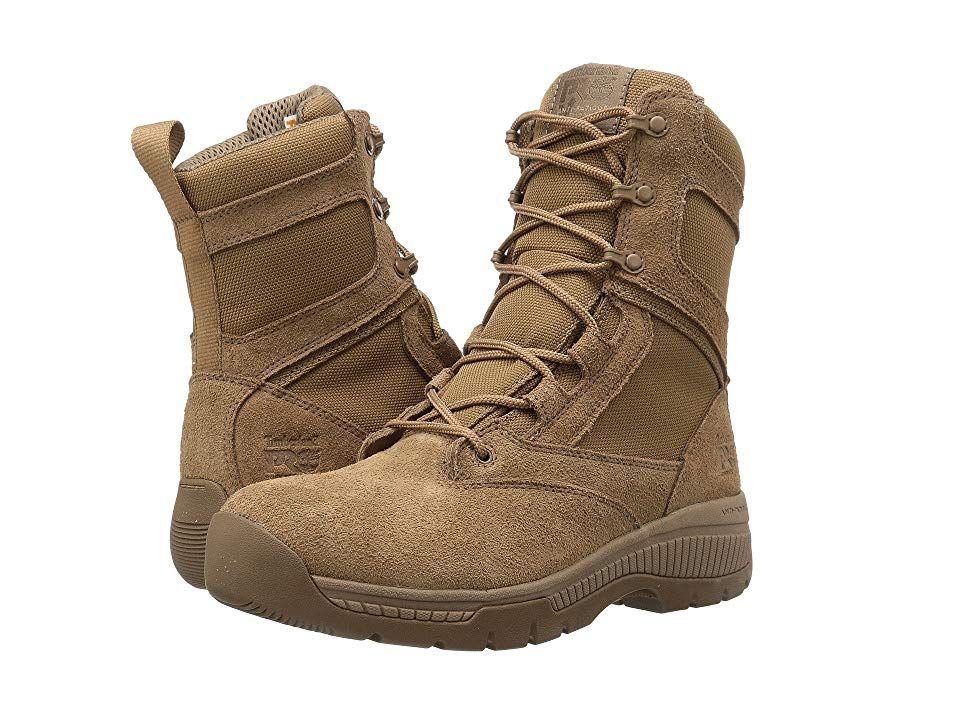 277f512d0ee Timberland PRO Valor 8 Duty Soft Toe Men's Work Lace-up Boots Coyote ...