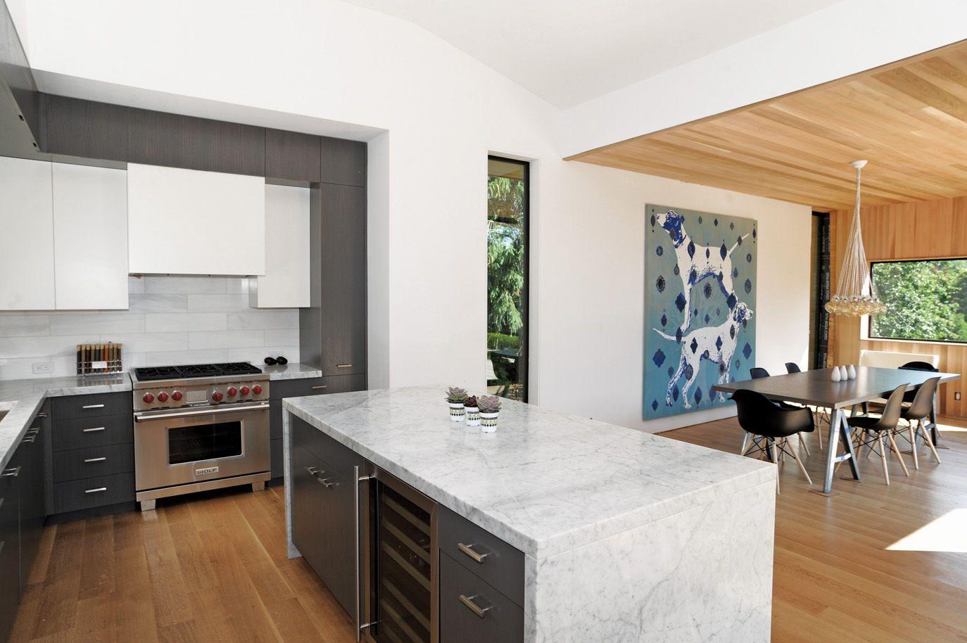 Kitchen in East Hampton residence - Hamptons Real Estate | Gourmet ...