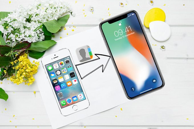 How to Transfer Contacts from iPhone to iPhone X   Iphone sim card, Iphone, New iphone