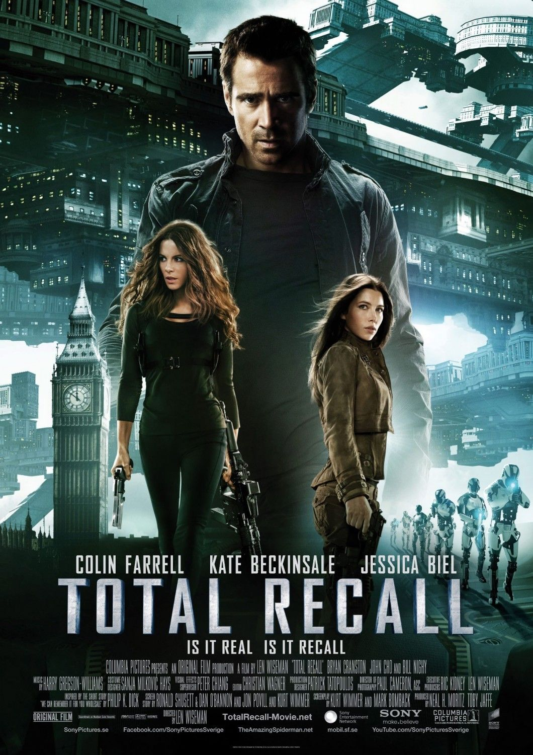 Total Recall 2012 Movie Posters 2010s