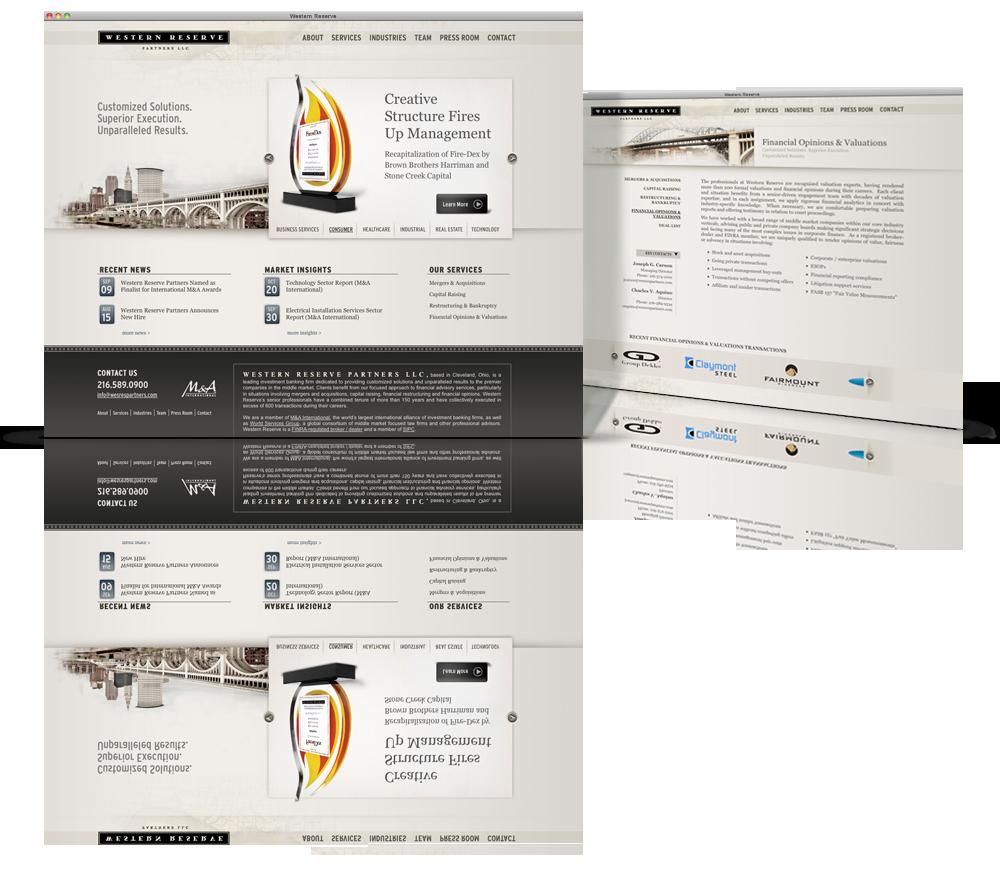 Western Reserve Partners Creative Websites Brand Marketing Web Design