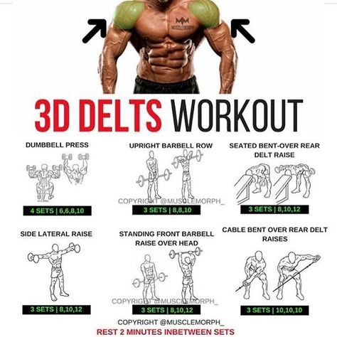 shoulder day want full 3d shoulders hit 'save'  try