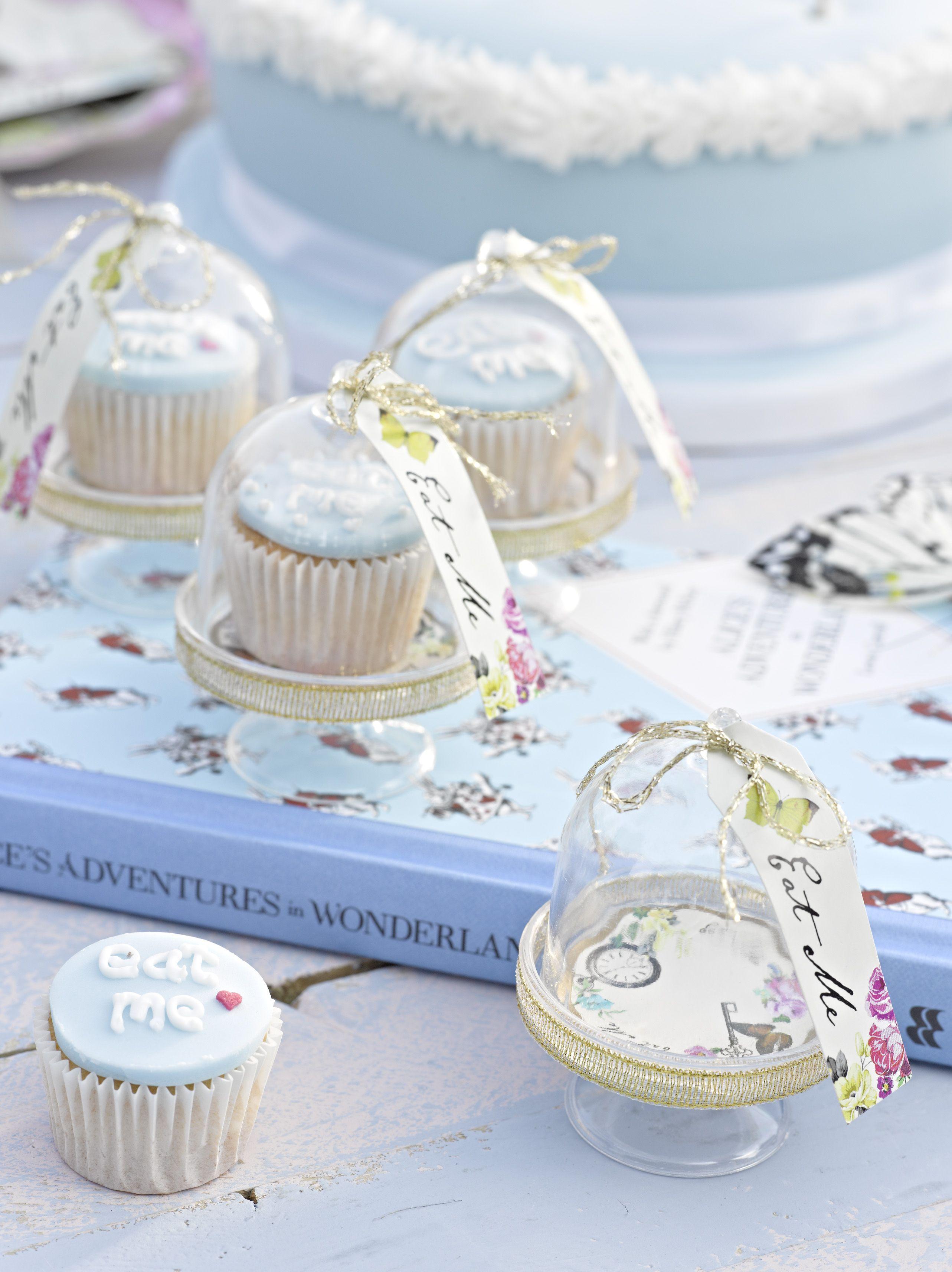 Teeny tiny cake domes . http://www.talkingtables.co.uk/categories ...