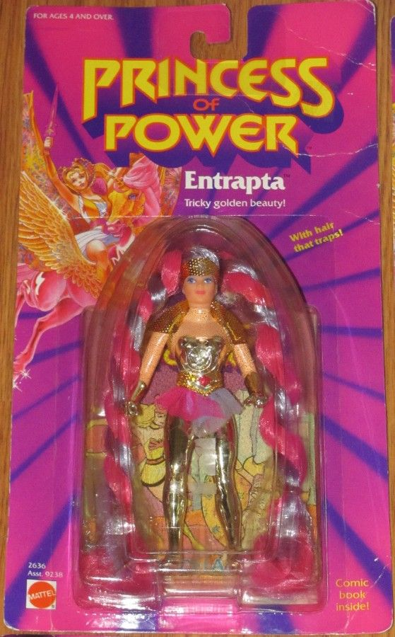 MATTEL: 1985 She-Ra Princess of Power ENTRAPTA  http://www.ebay.ca/usr/collectiblesbycandb | She ra princess of power,  Vintage toys, Princess of power