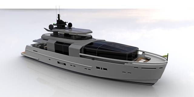 #Arcadia #Yachts introduces the Arcadia 100, their newest model for 2015