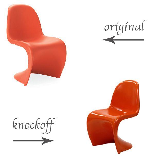 Panton Chair Knock Off Decor, Knock Off Furniture