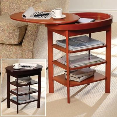 Swivel Top Side Table Coffee Table Side Table Lamps Table