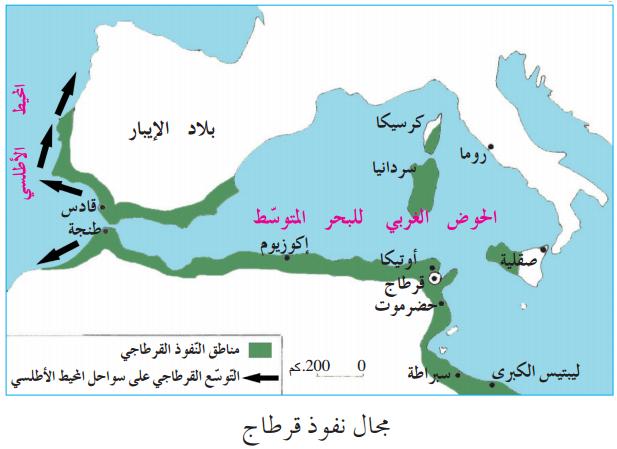 نشأة قرطاج وتوسعها دروس التاريخ السنة الخامسة ابتدائي الموسوعة المدرسية In 2020 Map World Map Map Screenshot