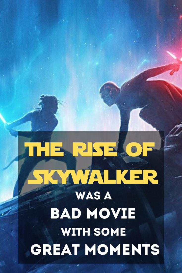 Star Wars The Rise Of Skywalker Review Nerd Mom Worst Movies Skywalker