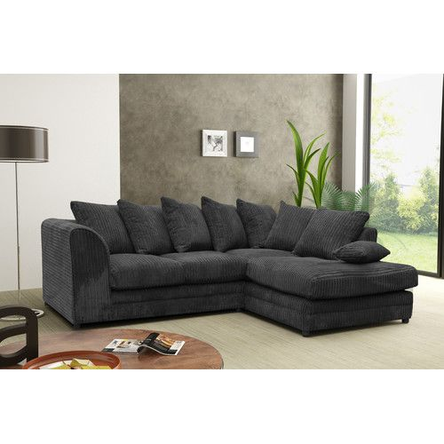Found It At Wayfair Co Uk Rabi Corner Sofa Cheap Sofa Beds Corner Sofa Black Corner Sofa