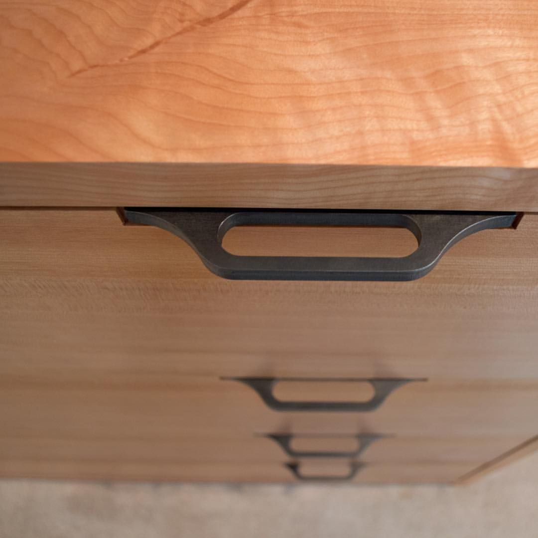 Another Shot Showing Our Custom Hardware On A New Dresser