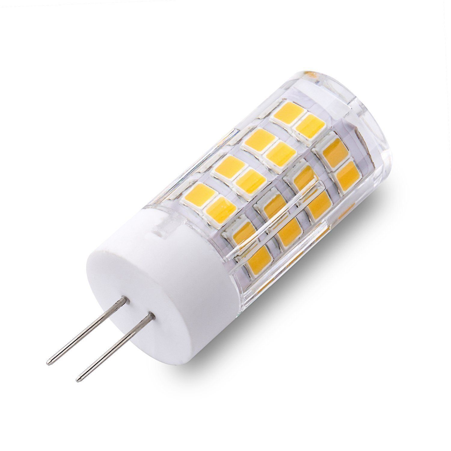 5w G4 Led Light Bulb 380lm 51 Smd 2835 Led Soft Warm White Light Nondimmable Ceramics Light High Power Energy S Energy Saving Lamp Ceramic Light Led Light Bulb