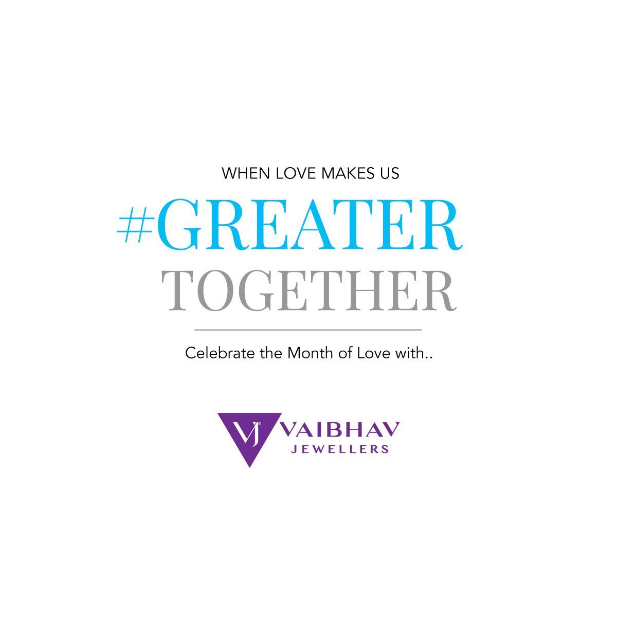 Vaibhav Jewellers's #GREATERTOGETHER #vaibhav #jewellers #greatertogether #platinum #pt #design #lovemakes #love #valentine #vaibhavjewellers #platinum #Pt #internationalshipping #online #shop #design #giftideas #giftsforhim #giftsforher #menlove #valentinesday #valentineslove #valentinegift
