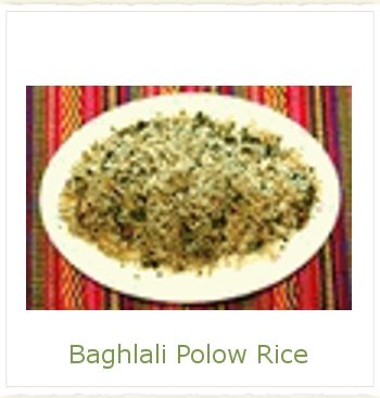 Baghlali Polow