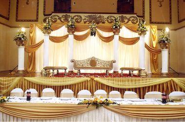 African Wedding Stage Idea