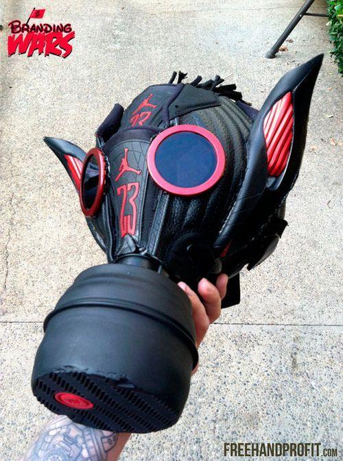 classic fit db2d8 5a73f Jordan Gas Mask   Custom Gasmasks   Gas mask art, Gas mask girl ...