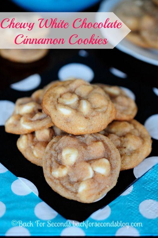 Hvid chokolade/kanel cookies