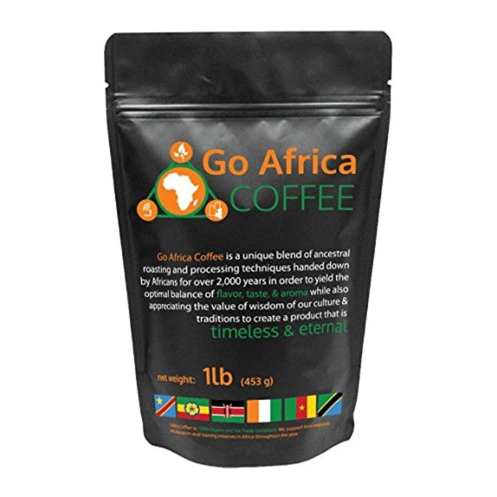 Go africa coffee 1ib bag whole bean dark roast in 2020