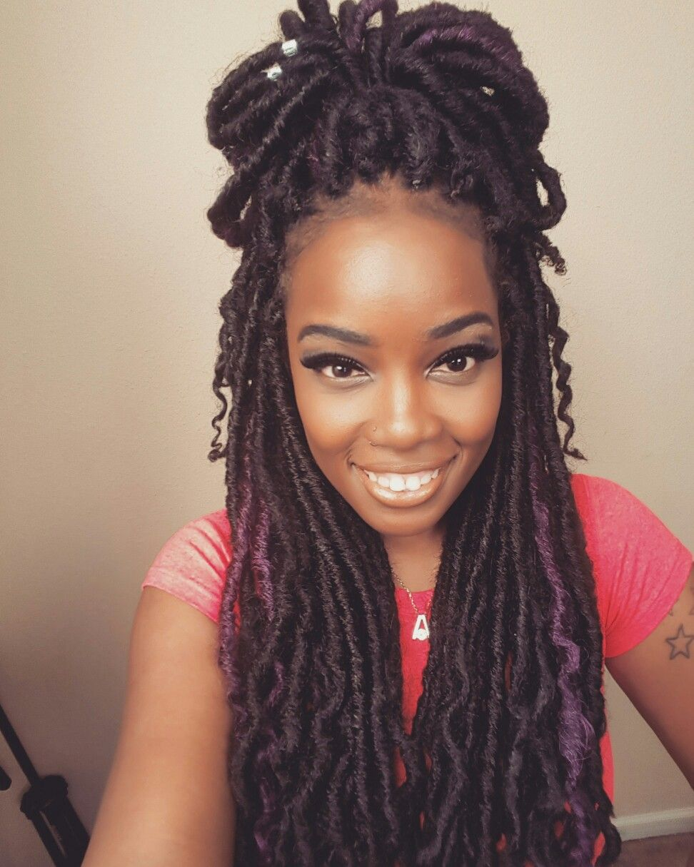 Pin By Chyra Willis On Hair Faux Locs Hairstyles
