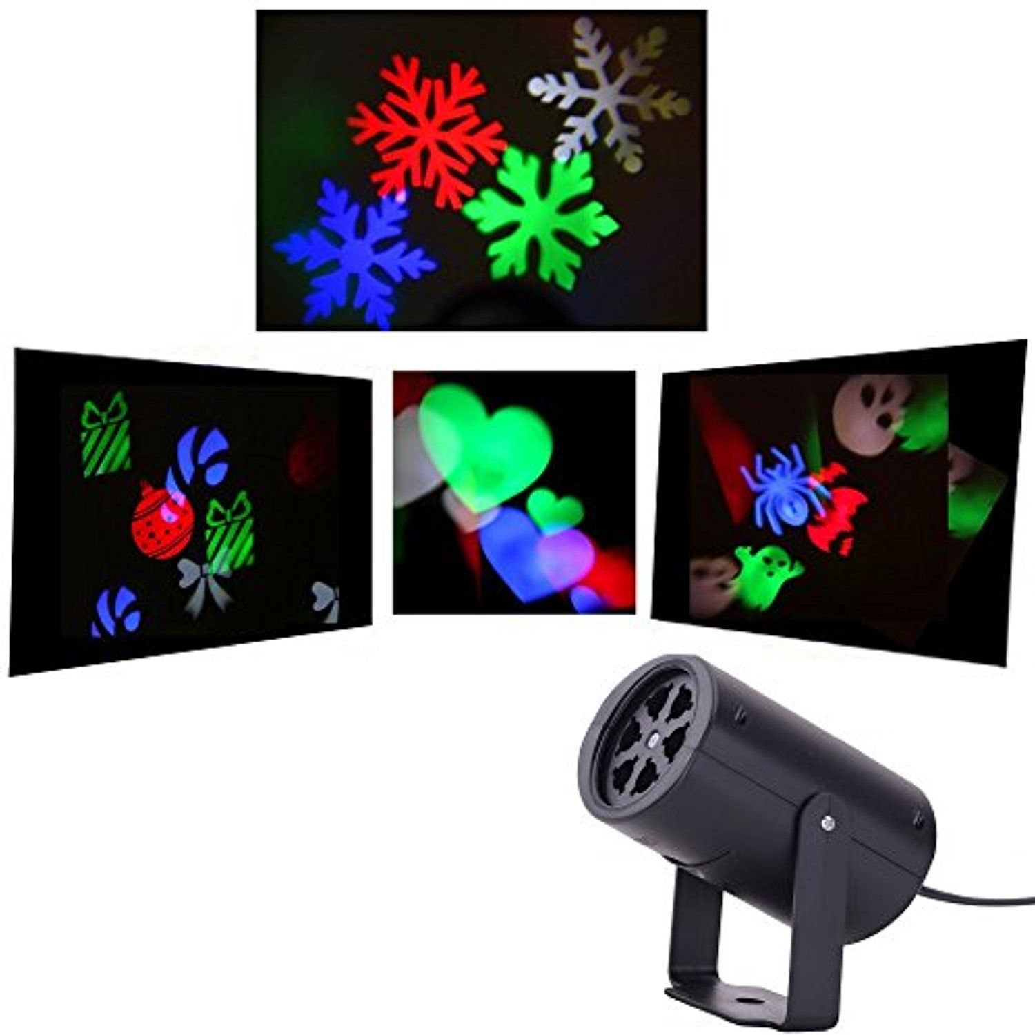 Holiday Light Projector For Christmas Halloween Valentine S Day Home Party Night Christmas Gifts For Kids Halloween Party Decor Halloween Decorations Indoor