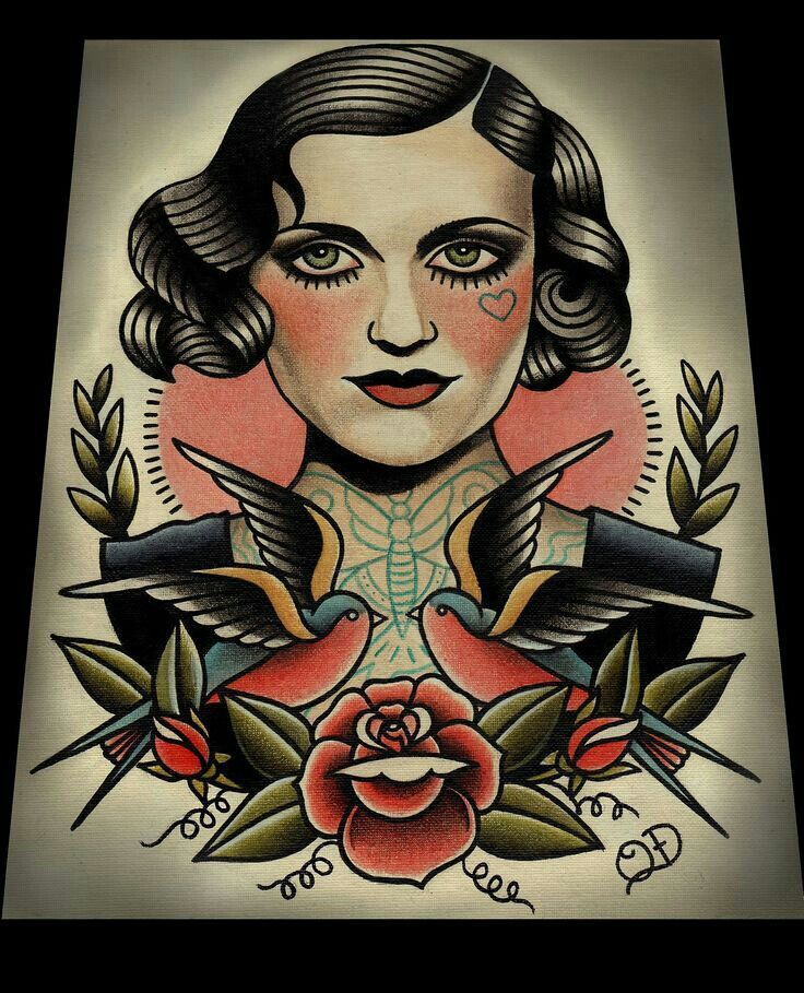 Pin By Brooklyn B On Inspiring Sketches Drawings Traditional Tattoo Art Old School Tattoo Traditional Tattoo