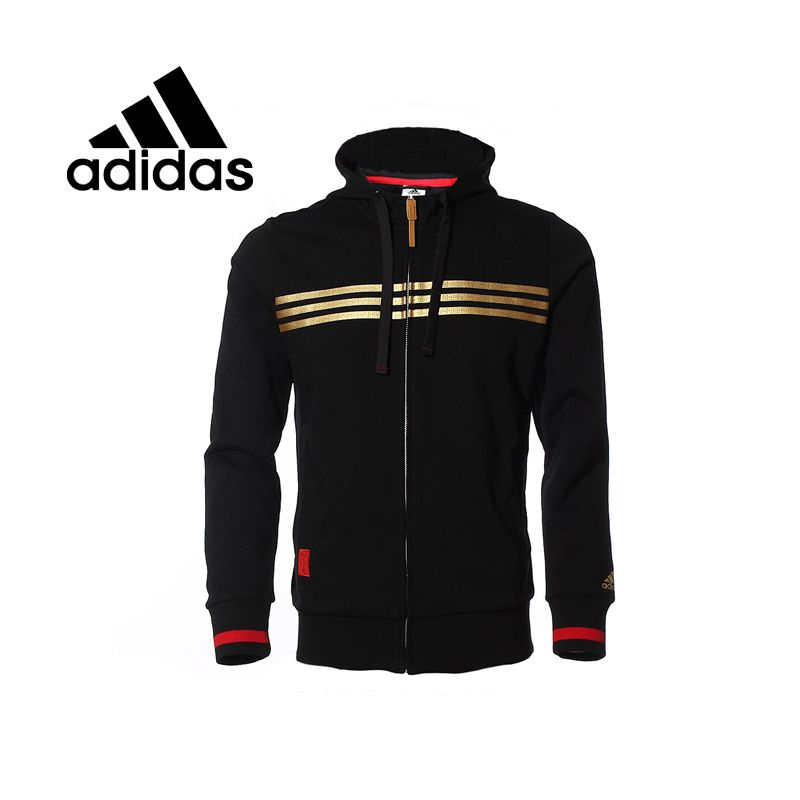 f4f8b7128db Barato Adidas originais A95544 jaqueta Hoodie dos homens sportswear frete…