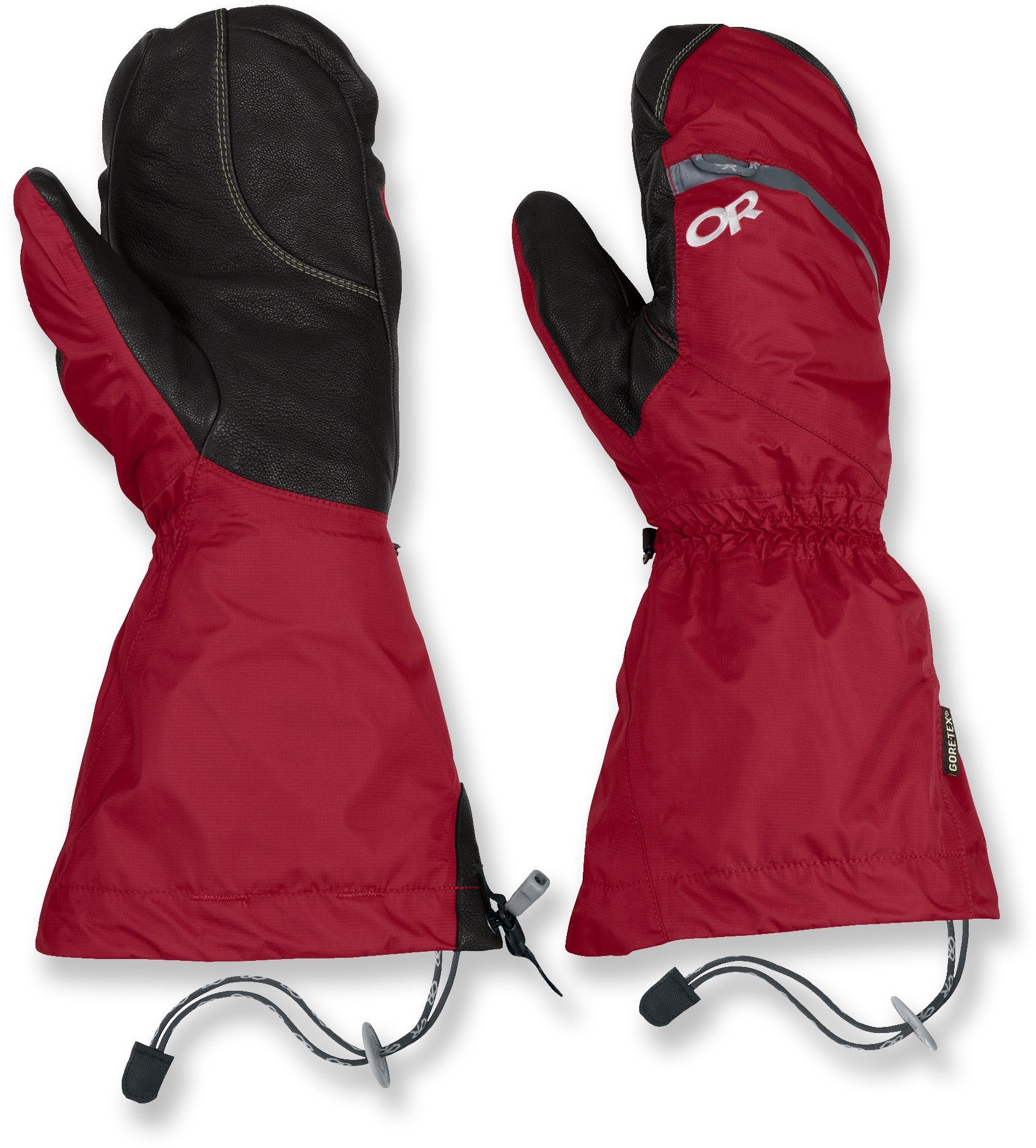 Outdoor research alti mittens chili xl mittens trekking gear and