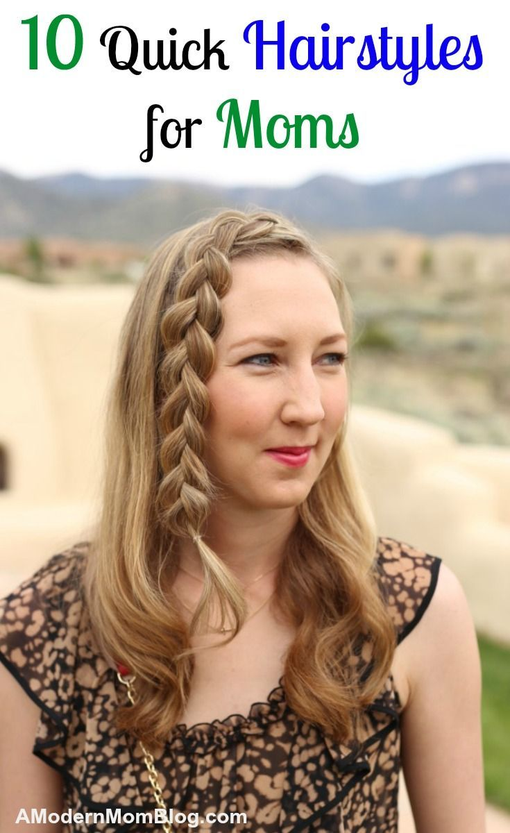 Hairstyles quick hairstyle ideas for moms quick hairstyles