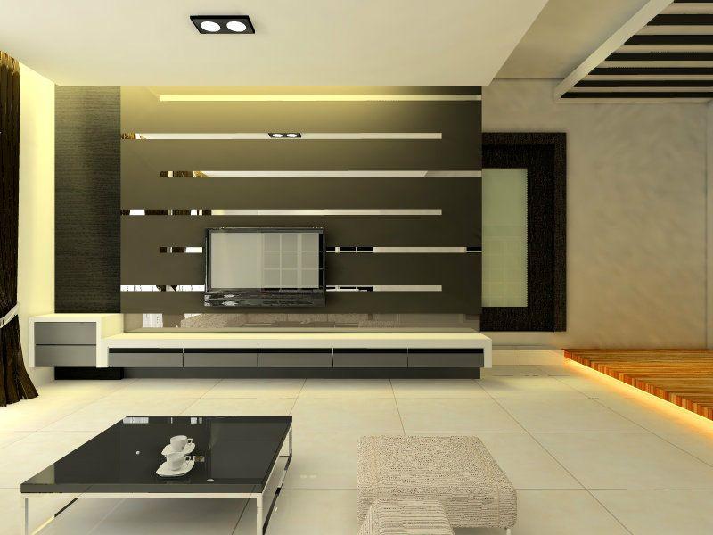 Superbe Decent TV Wall Design. Finesse Interiors U0026 Refurbishers Ent. Phone:  040 67172616