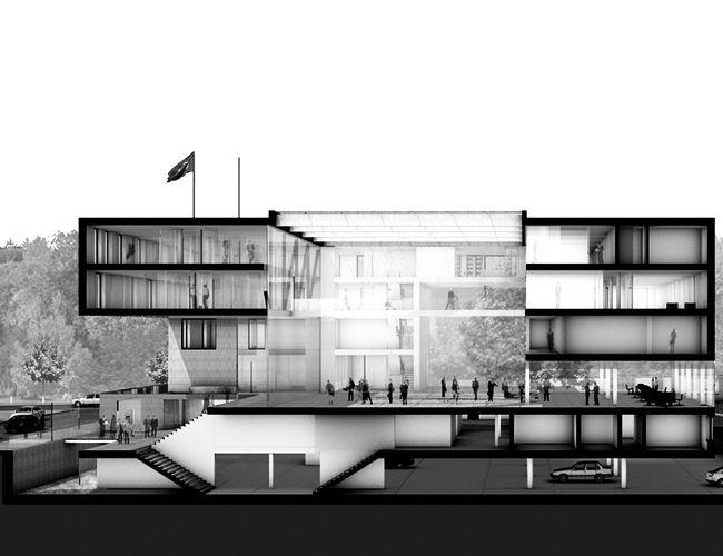 Bildergebnis f r schnitt photoshop menschen section - Architektur schnitt ...