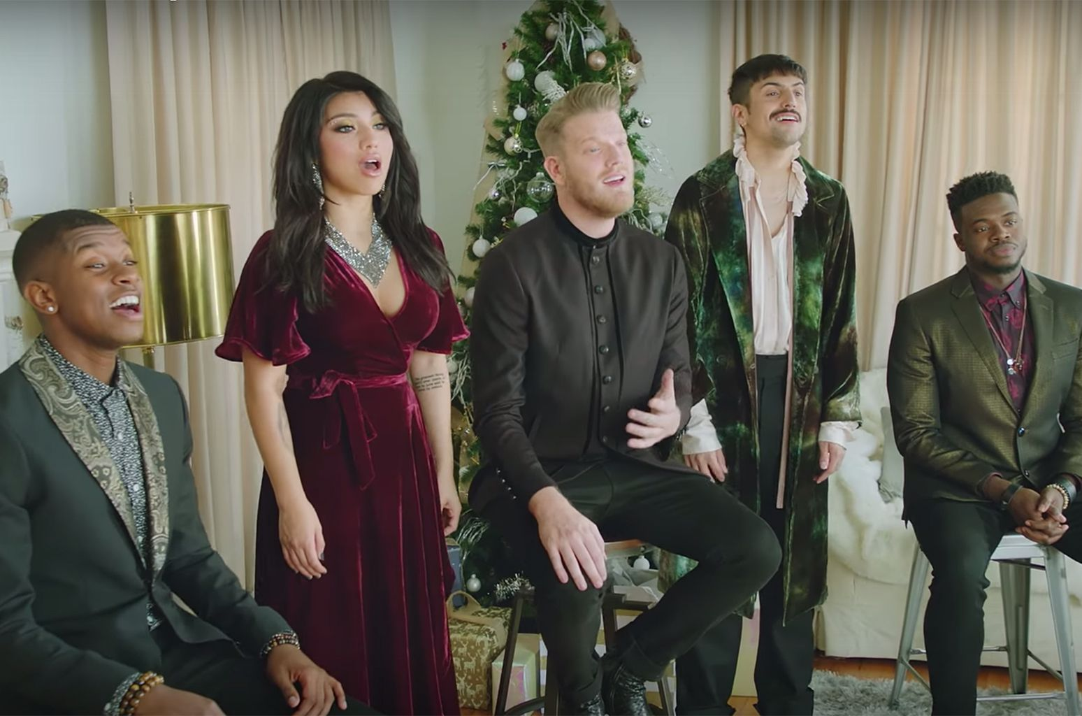 Pentatonix Shares New 'Deck The Halls' Video Ahead of Christmas