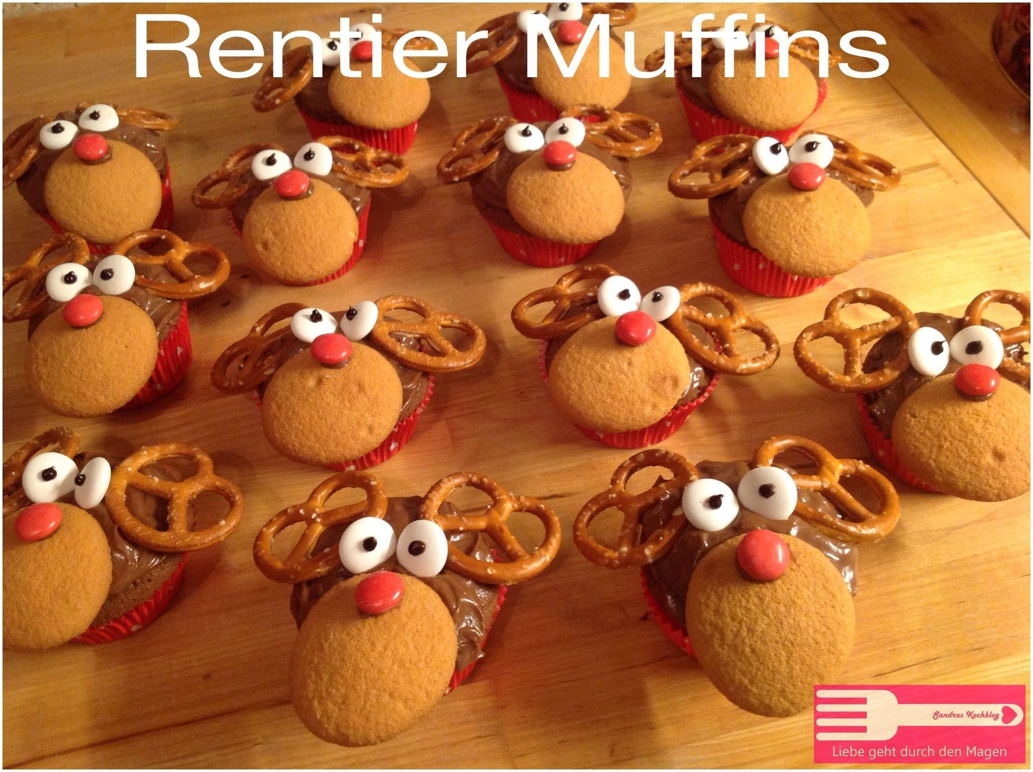 Rentier Muffins - Liebe geht durch den Magen