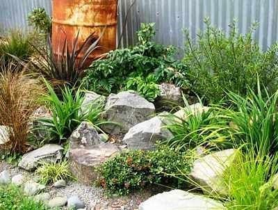 Rock garden for a great turtle garden  My Cotta  Cottage Garden Pond
