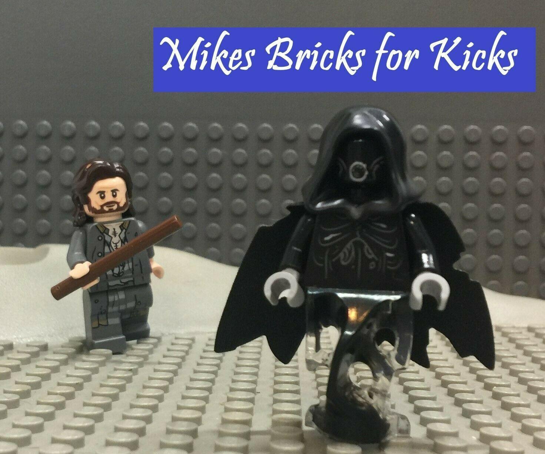 NEW GENUINE LEGO Dementor with Black Cape Minifigure Potter 75945 Mini Figure