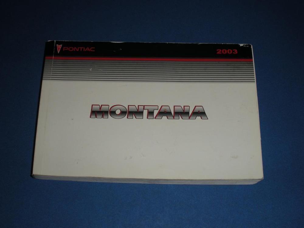 2003 pontiac montana owners manual book guide owners manuals rh pinterest com 2005 Pontiac Montana 2004 pontiac montana repair manual