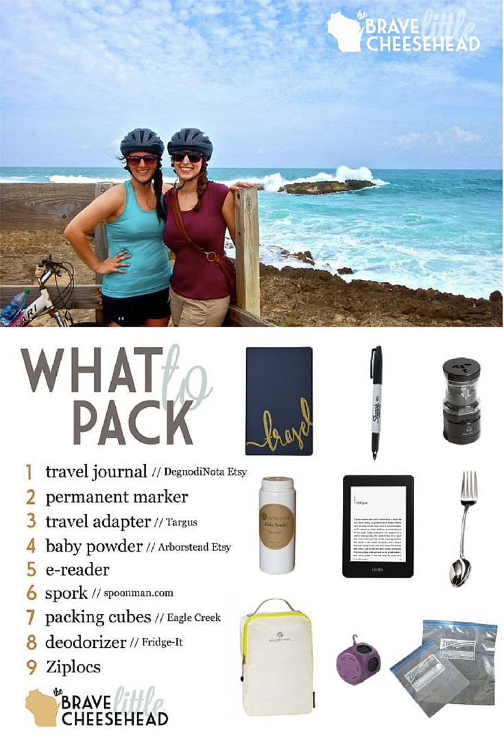 Packing for travel is both an art and science. These are the things we never leave home without.