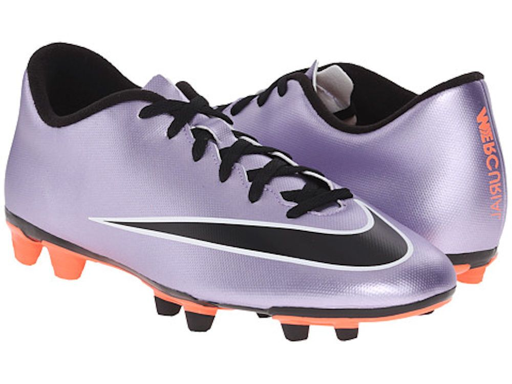 low priced bd62f f858c Mens Nike Mercurial Soccer Cleats Vortex II FG Purple US Size 10  Nike