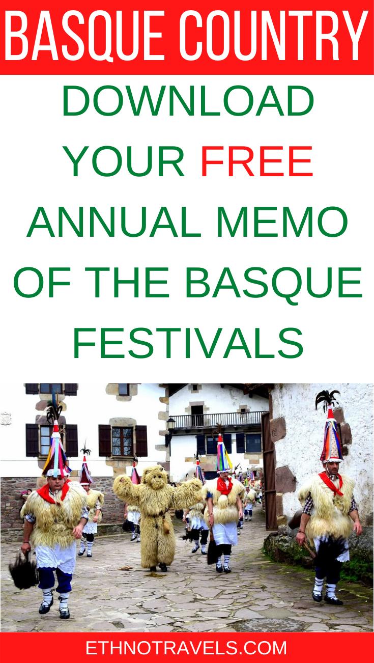 Festival Country Calendrier 2021 Basque Festivals   Basque Agenda 2020 2021| Ethno Travels in 2020