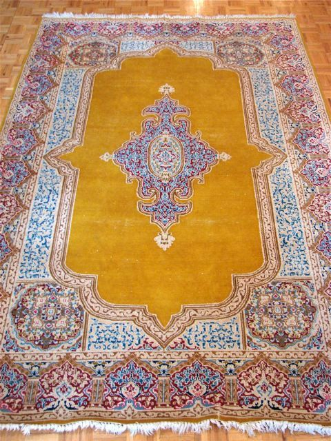 Persian Carpet Wool Oriental Rug Authentic Hand Knotted 675 00