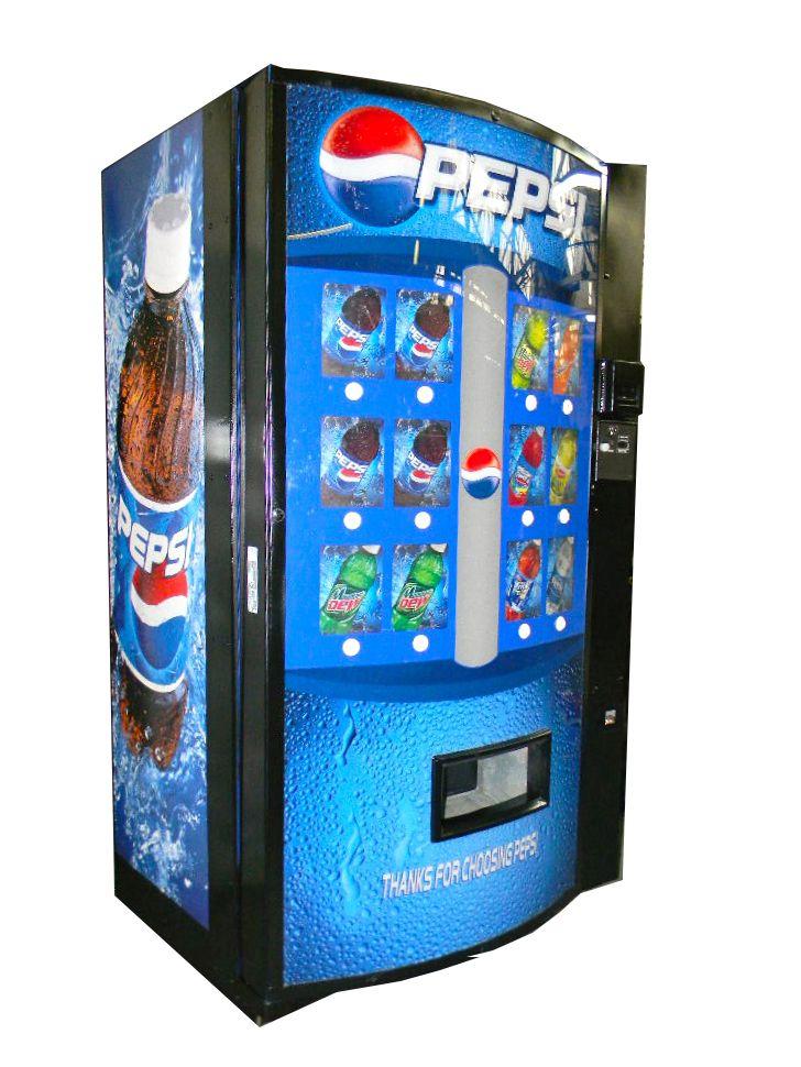pepsi soda water can bottle vending machine vendo 511 vending machine pepsi and bottle. Black Bedroom Furniture Sets. Home Design Ideas