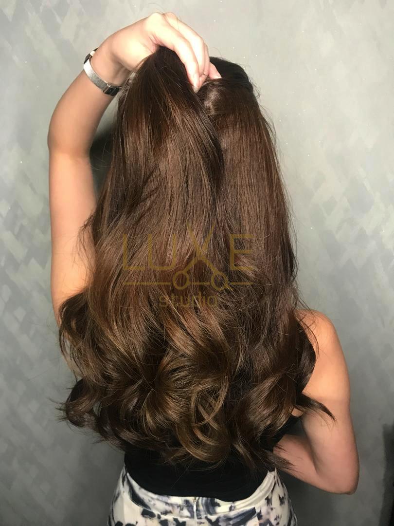 Korean Wave Perm  Wave perm, Korean long hair, Hair styles