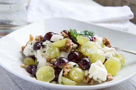 Trauben-Feta-Salat – Rezept